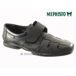 Mephisto Homme: Chez Mephisto pour homme exceptionnel Mephisto MARVIN Noir cuir sandale