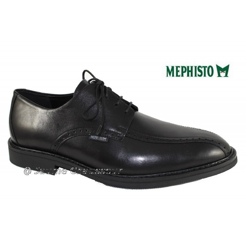 chaussures Homme MEPHISTO DACIANO Noir cuir 2339