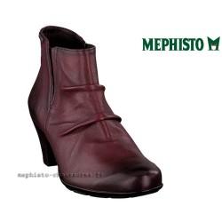 MEPHISTO Femme Bottine BELMA Rouge cuir 23861