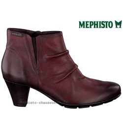 MEPHISTO Femme Bottine BELMA Rouge cuir 23862