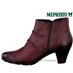 MEPHISTO Femme Bottine BELMA Rouge cuir 23866