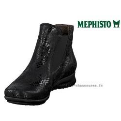 MEPHISTO Femme Bottine FEDERICA Noir cuir 24290
