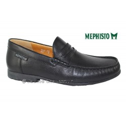 Mephisto Homme: Chez Mephisto pour homme exceptionnel Mephisto MACENIAS Noir cuir mocassin