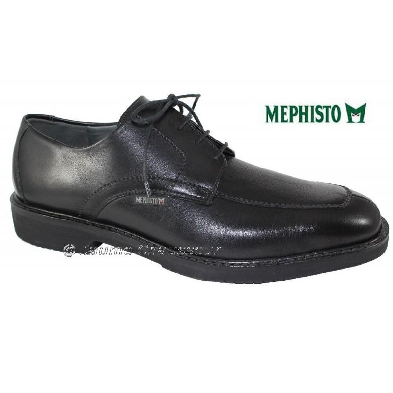 MEPHISTO Homme Lacet GAHAM Noir cuir 2434