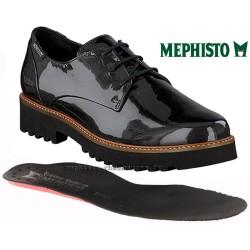 MEPHISTO Femme lacet SABATINA Gris cuir verni 25410