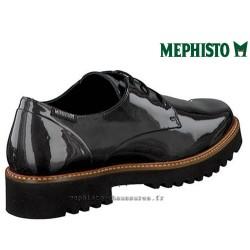 MEPHISTO Femme lacet SABATINA Gris cuir verni 25414