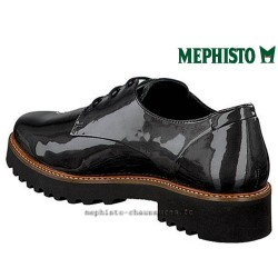 MEPHISTO Femme lacet SABATINA Gris cuir verni 25416