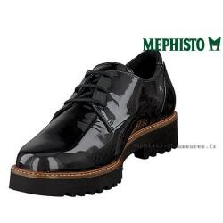 MEPHISTO Femme lacet SABATINA Gris cuir verni 25418