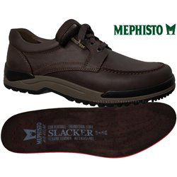 MEPHISTO Homme Lacet CHARLES Marron cuir 25833
