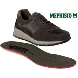 MEPHISTO Homme Lacet TRAIL Gris cuir 26370
