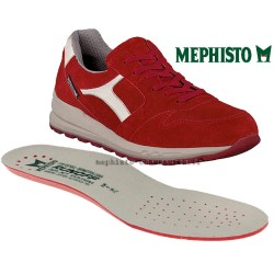 MEPHISTO Homme Lacet TRAIL Rouge velours 26532