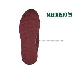 MEPHISTO Homme Lacet TRAIL Rouge velours 26533