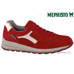MEPHISTO Homme Lacet TRAIL Rouge velours 26535