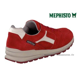 MEPHISTO Homme Lacet TRAIL Rouge velours 26536