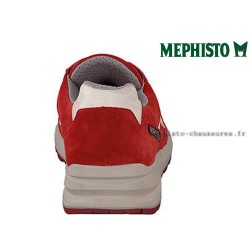 MEPHISTO Homme Lacet TRAIL Rouge velours 26537