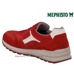 MEPHISTO Homme Lacet TRAIL Rouge velours 26538