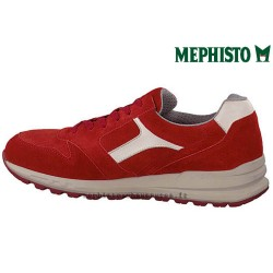MEPHISTO Homme Lacet TRAIL Rouge velours 26539