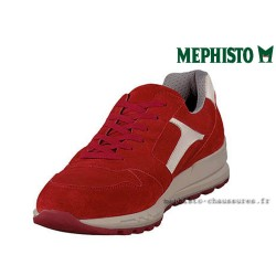 MEPHISTO Homme Lacet TRAIL Rouge velours 26540