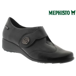 Boutique Mephisto Mephisto SECINA Noir cuir lisse mocassin