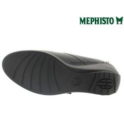 MEPHISTO Femme Scratch SECINA Noir cuir lisse 27349