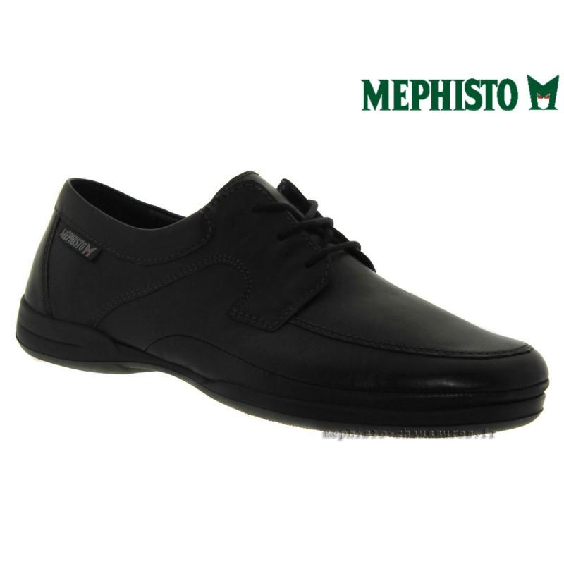 MEPHISTO Homme Lacet RIENZO Noir cuir 27815