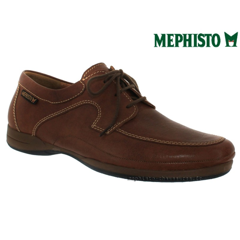 MEPHISTO Homme Lacet RIENZO marron cuir 27869