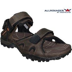 mephisto-chaussures.fr livre à Ploufragan Allrounder ROCK Marron cuir sandale