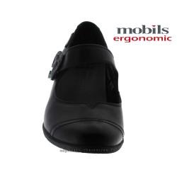 MOBILS de Mephisto Femme Talon BONI Noir cuir 28628