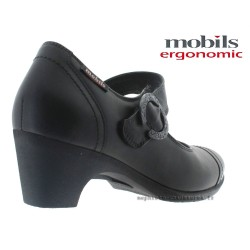 MOBILS de Mephisto Femme Talon BONI Noir cuir 28633
