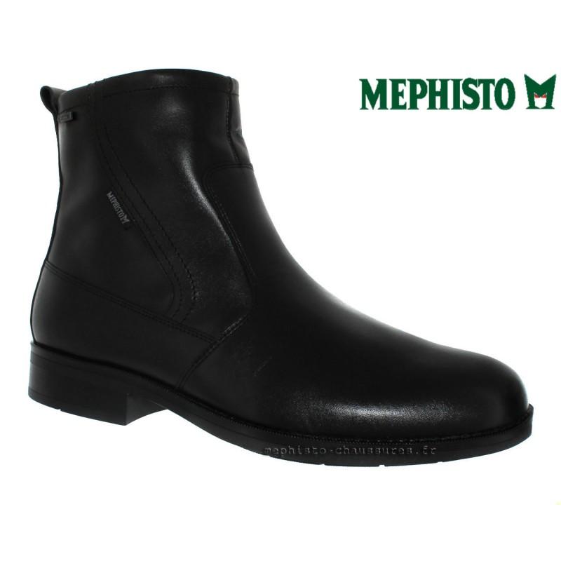 chaussures Homme MEPHISTO DAMIEN GT Noir cuir 29093