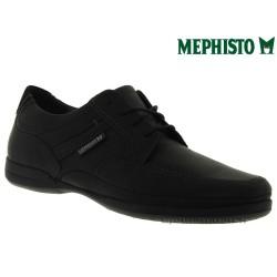 Marque Mephisto Mephisto RONAN Noir cuir lacets