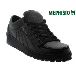 Distributeurs Mephisto Mephisto RAINBOW Noir cuir lacets