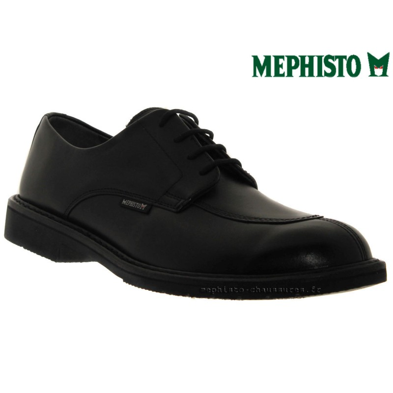 distributeurs mephisto, MIKE, Noir cuir chez www.mephisto-chaussures.fr (29813)