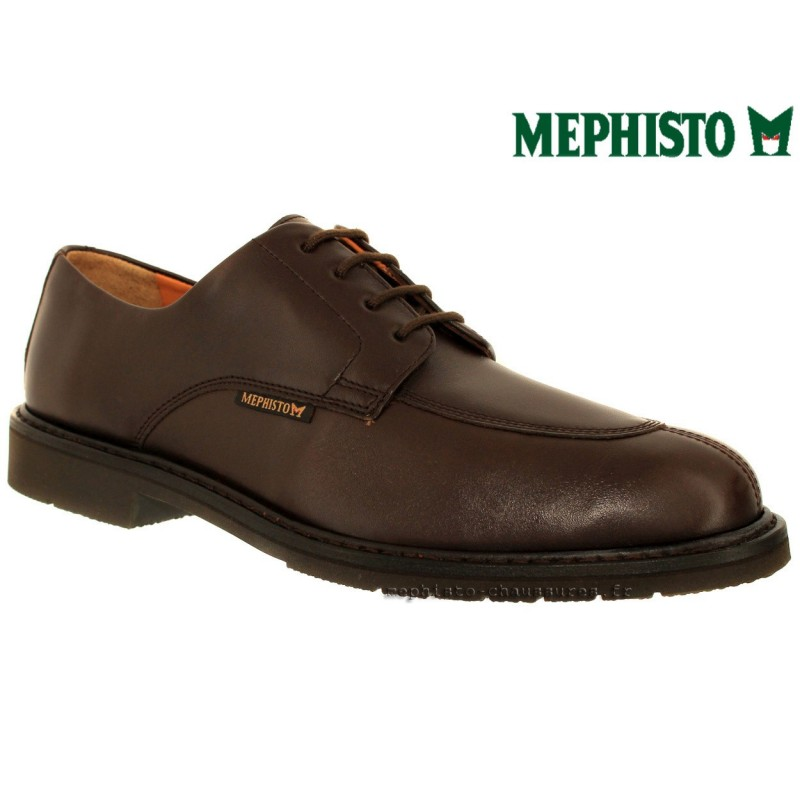 MEPHISTO Homme Lacet MIKE Marron cuir 29948