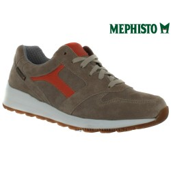 Mephisto Homme: Chez Mephisto pour homme exceptionnel Mephisto TRAIL Beige velours lacets