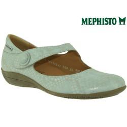 mephisto-chaussures.fr livre à Changé Mephisto ODALYS Gris clair cuir ballerine