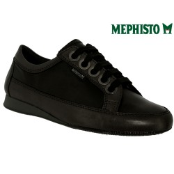 Mephisto lacet femme Chez www.mephisto-chaussures.fr Mephisto BRETTA Noir cuir lacets