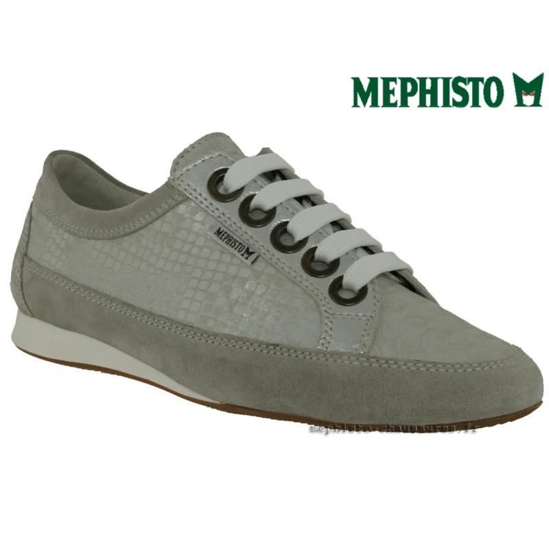 mephisto, bretta, Gris clair cuir