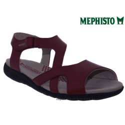 SANDALE FEMME MEPHISTO Chez www.mephisto-chaussures.fr Mephisto EFFIA Rouge cuir sandale