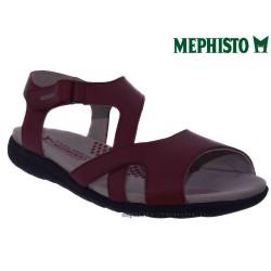 Sandale femme Méphisto Chez www.mephisto-chaussures.fr Mephisto EFFIA Rouge cuir sandale