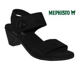 Sandale femme Méphisto Chez www.mephisto-chaussures.fr Mephisto CELINE Noir velours sandale