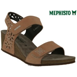 Sandale Méphisto Mephisto MARIE SPARK Vieux rose velours sandale