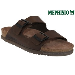 Méphisto tong homme Chez www.mephisto-chaussures.fr Mephisto NERIO Marron cuir mule
