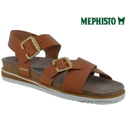 SANDALE FEMME MEPHISTO Chez www.mephisto-chaussures.fr Mephisto SYBIL Marron cuir sandale