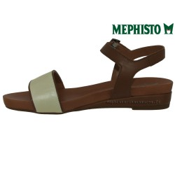 achat mephisto, GAETANA, Marron blanc cuir chez www.mephisto-chaussures.fr (31673)