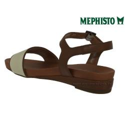 achat mephisto, GAETANA, Marron blanc cuir chez www.mephisto-chaussures.fr (31674)