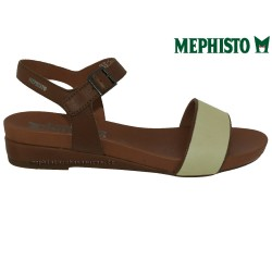 achat mephisto, GAETANA, Marron blanc cuir chez www.mephisto-chaussures.fr (31677)