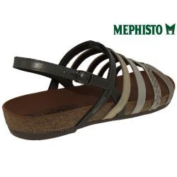 VERONA Or bronze cuir 40(fr) sandale