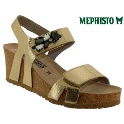 Sandale Méphisto Mephisto LOTTIE Or cuir sandale