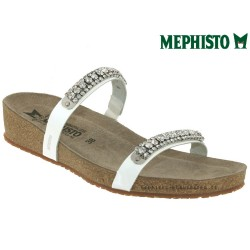mephisto-chaussures.fr livre à Oissel Mephisto IVANA Blanc verni mule